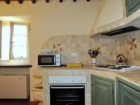 Cucina tipica toscana appartamento Galileo