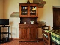 Mobile e TV in soggiorno appartamento Leonardo