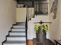 Le scale dell'appartamento Margherita