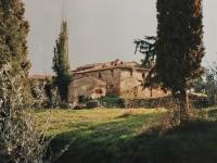Vista posteriore di Erboli prima del restauro